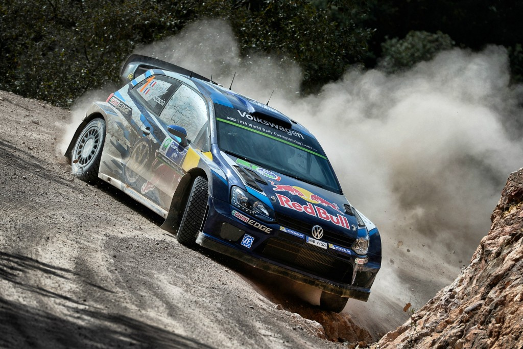 Volkswagen Polo R WRC si Sebastien Ogier